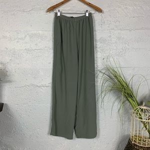 Eileen Fisher XS Silk Wide Pants